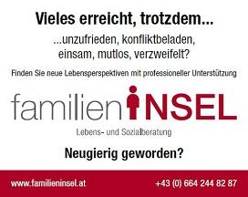 Versicherungsmakler, Vorsorgespezialist und Kreditmakler B-Quadrat aus Dornbirn (Vorarlberg) - Referenz: Familieninsel in Gaißau