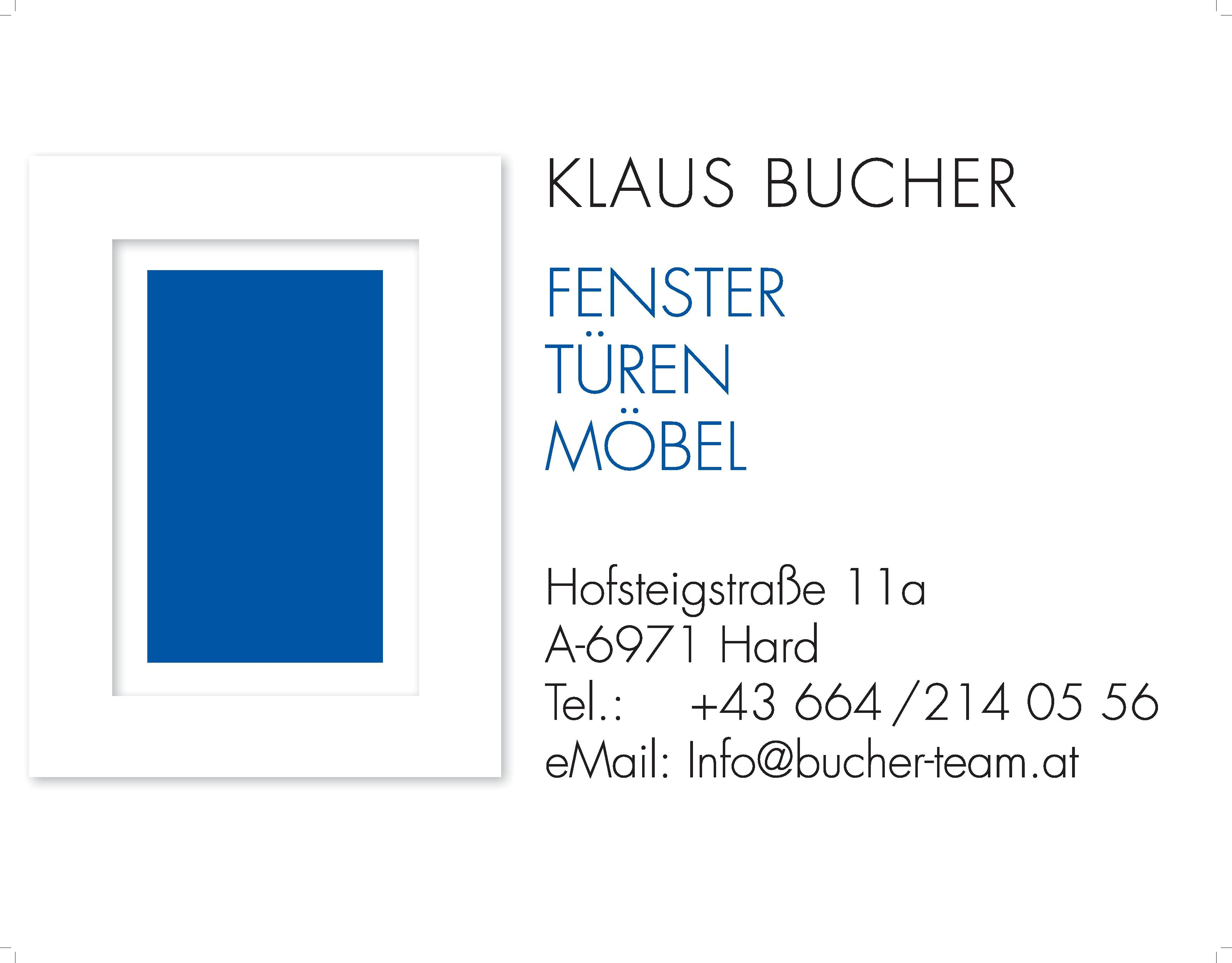 Versicherungsmakler, Vorsorgespezialist und Kreditmakler B-Quadrat aus Dornbirn (Vorarlberg)   Referenz: Tischler Klaus Bucher
